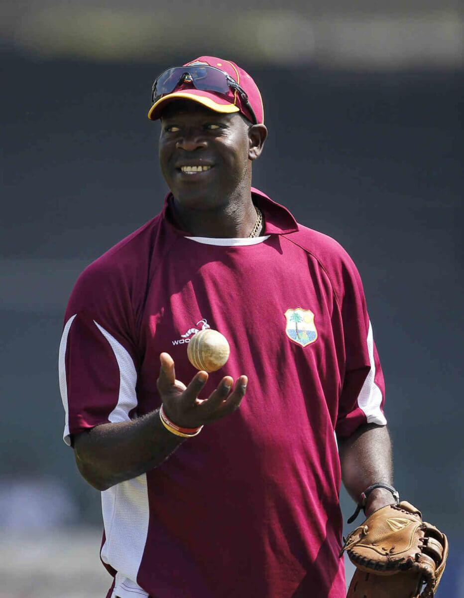 Former West Indies Cricket Coach Ottis Gibson.
